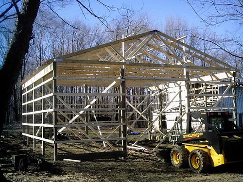 Custom pole barns garage builders erie pa ashtabula for 30x30 pole building