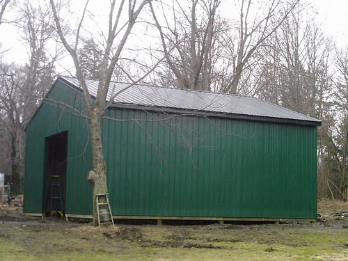 Pole Barn Garage Builders
