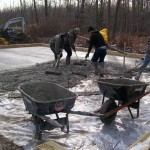 Pour Concrete Floor in Custom Pole Building