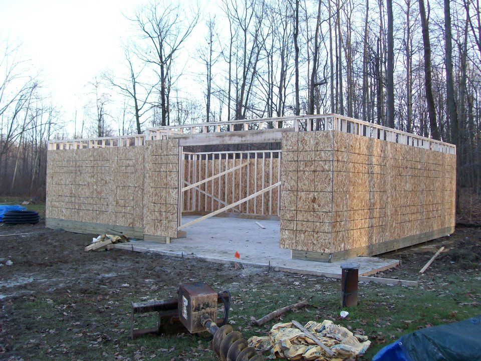 Amish Pole Buildings : Ohio pole barn building codes info plans guide