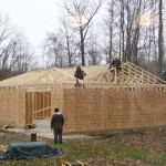 Truss Installation | Custom Garage Construction