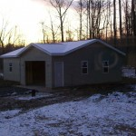 Custom Built Garage in Ashtabula County