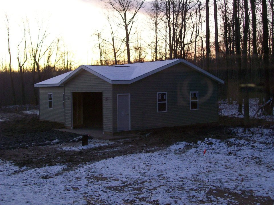 Custom Garage Construction Pole Barn Builders Conneaut